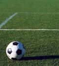 futebol campo e bola capa