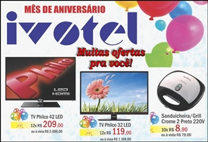 Ivotel setembro aníver2