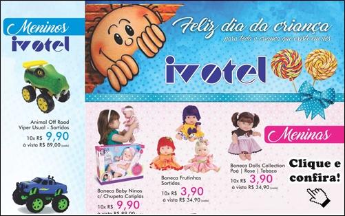 Ivotel capa Dia das Crianças 2017