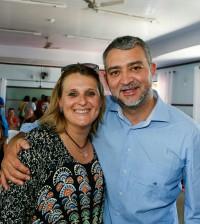 Roberta e Edegar Pretto
